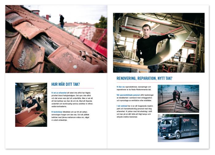 Broschyr: Företagspresentation / Säljbroschyr