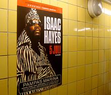 Posters i stadsmiljö