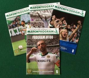 Matchprogram Hammarby Fotboll 2014
