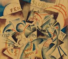 """GAN – Gösta Adrian-Nilsson """"Arbeten på papper 1915–1924"""""""